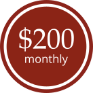 200monthly red
